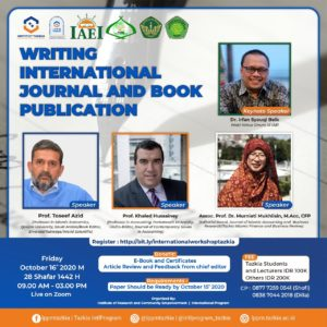 WRITING INTERNATIONAL JOURNAL  AND BOOK PUBLICATION