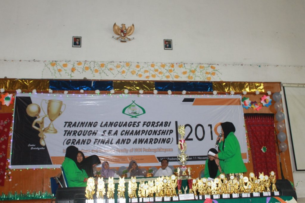 Training Languages FORSABI 2019 FEBI IAIN Padangsidimpuan
